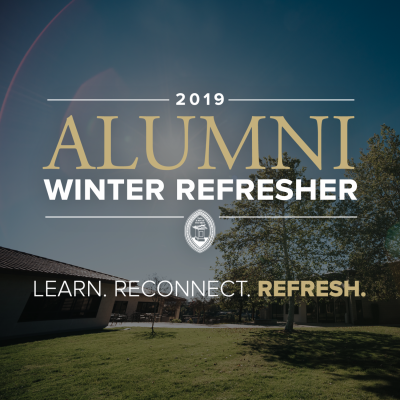 2019 Alumni Winter Refresher