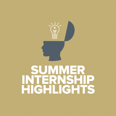 New Summer Internship Blog Series