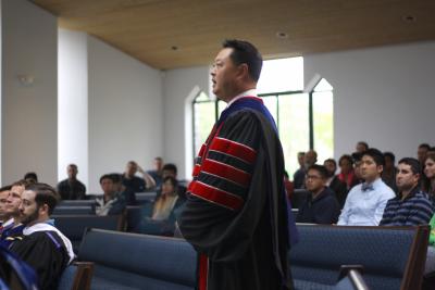 Inauguration of Dr. Julius J. Kim