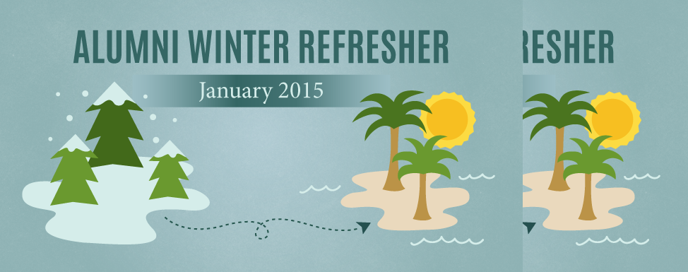 Alumni Winter Refresher 2015